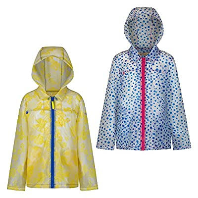 Regatta Great Outdoors Kinder/Mädchen Epping Rain Mac mit Kapuze