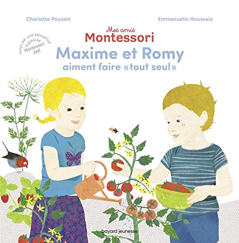 Ma journée Montessori - Romy aime faire toute seule (Mes amis Montessori t. 1) (French Edition)