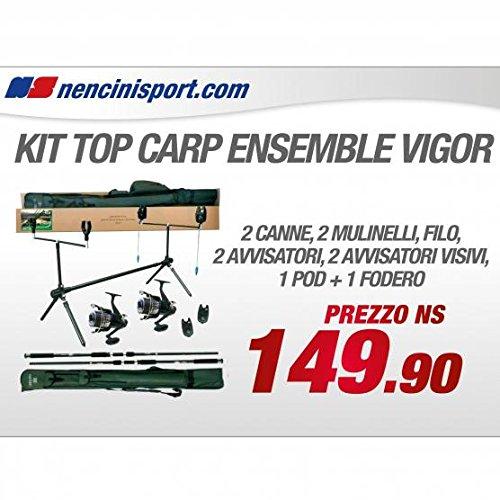 Lineaeffe Top Carp Full Carpfishing Combo