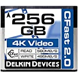 Delkin Cinema CFast 2.0256GB Speicherkarte