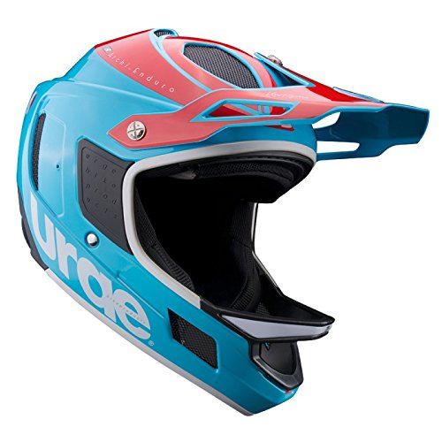 Urge Archi Enduro RR Mountainbike-Helm, Unisex L blau/rot / weiß Preisvergleich