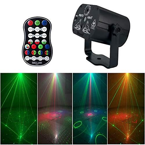 BONNIO LED Bühnenleuchten Par Lampe RGB DJ Disco Beleuchtung Bühne Effekt Bar Party Lichter Strobe Lichter (Licht Bars Strobe)
