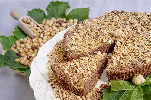 Torta di Nocciole T.G.T. 50% senza farina e senza burro