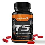 T5 Fat Burner - For Men and Women - 2 Free Gifts With Every Order! - 60 Capsules - 1 Month Supply - 100% Money Back Guarantee by Nutrition Plus