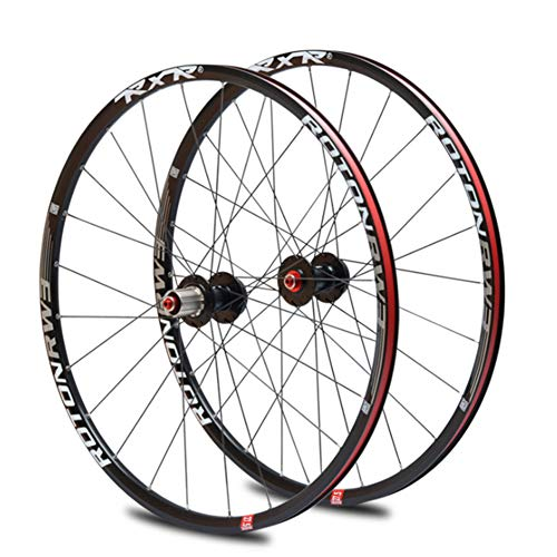 "YHSFC Fahrradfelge 26"",27.5\"" Mountain Bike Wheel Set Super Loud Aluminum Alloy Rim Front and Rear Single Wheels"