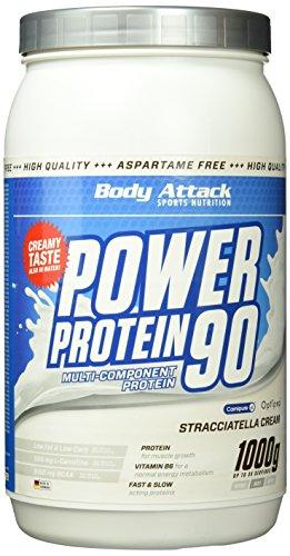 Power Protein Cookie (Body Attack Power Protein 90, Stracciatella, 1kg Dose)