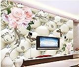 Malilove In Stile Europeo Flowers Ricco Pacchetto Morbido Sfondo Dipinto Lo Sfondo Per Pareti 3 D Per Soggiorno