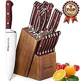 Emojoy Knife Block, Knife Set, 15-TLG, 18-TLG