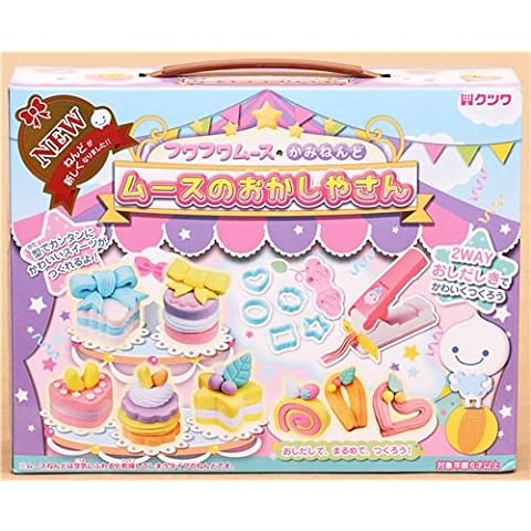 kit DIY creta paper mousse mini torte e dolci dal Giappone