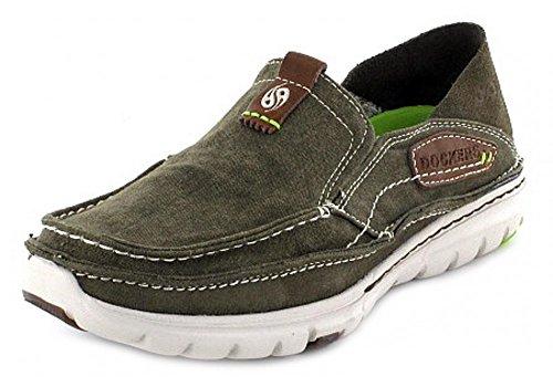 dockers-by-gerli-scarpe-chiuse-uomo-verde-cachi-40-eu