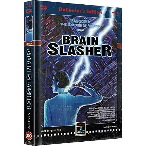 Brain Slasher - Mediabook - Cover C Retro - Limited Edition auf 333 Stück  (+ DVD) [Blu-ray]