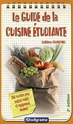 Le guide la cuisine étudiante