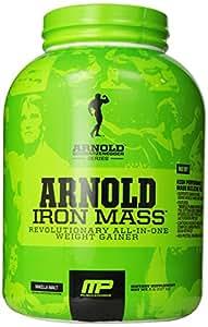 Arnold Schwarzenegger Series /Musclepharm Iron Mass - Vanilla - 2270g, 1er Pack (1 x 2.27 kg)