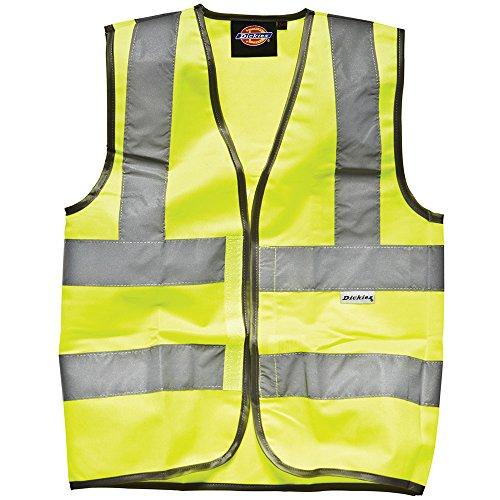 Dickies - gilet alta visibilità - uomo (4xl) (giallo alta visibilità)