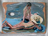 Best Disney Dad Gifts From Kids - Boys Bathing - Oil Painting on Genuine Artist's Review