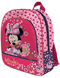 Disney Minnie Mouse AS018/AST1916 - Mochila infantil, 38 cm, multicolor