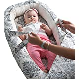 Cozy Baby Nest / Nido del bebé / Diminution de cama para bebé reversibile - Mejor oferta al mejor precio - No más preocupaciones de que tu bebé podría caer cuando duerma - Algodón orgánico + Hipoalergénico - Disponible en 2 tamaños (Large)