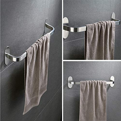 304 Edelstahl-Tallle-Bar Handtuch-Rack, langlebig und korrosionsbedenklich, leicht zu reinigen, nicht leicht, um die Wand zu beschädigen, geeignet für Küche, Bad, Balkon