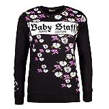 Babystaff Damen Kapuzen Pullover Sweater Verschiedene Modelle Rya Sweater schwarz L