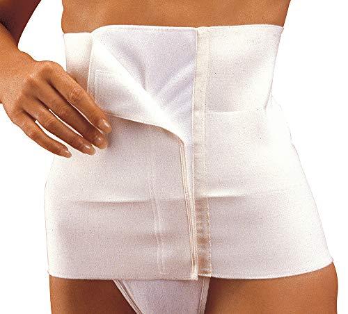 Manifattura bernina sana 55108 (taglia 1) - pancera post-operatoria sagomata da donna in cotone chiusura a velcro altezza 27 cm