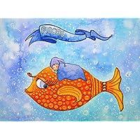 Originalbild für Jungen - Sternzeichen Fische