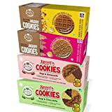 #9: Early Foods - Assorted Pack of 4 - Organic Ragi, Dry Fruit, Millet & Chocolate Jaggery Cookies X 4