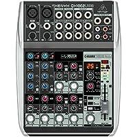 Behringer QX1002USB - Mixer a 10 Ingressi Con Interfaccia Audio + Processore Effetti Per Studio, Karaoke, Live, Ecc.