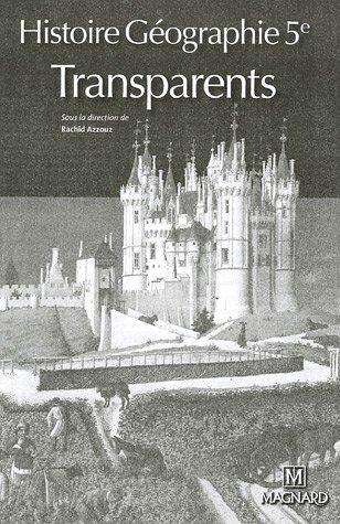 Histoire Géographie 5e : Transparents