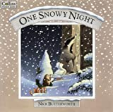 Cover of: One Snowy Night (Percy's Park) | Nick Butterworth