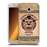 Head Case Designs Offizielle Five Nights at Freddys Freddy Freddy Fazbears Pizza Soft Gel Hülle für Samsung Galaxy A5