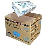 SFM  SOFTLIGHTS Nitril : XS, S, M, L, XL blau puderfrei F-tex Einweghandschuhe Einmalhandschuhe Untersuchungshandschuhe Nitrilhandschuhe L (1000)