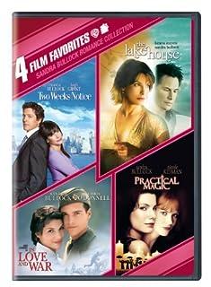 4 Film Favorites: Sandra Bullock (In Love and War, The Lake House, Practical Magic, Two Weeks Notice) by Sandra Bullock