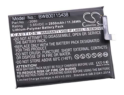 Vhbw Litio polímero batería 2950mAh 3.85V móvil