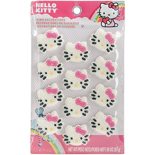 ons 12/Pkg-Hello Kitty (Halloween-ideen Für Party Lebensmittel)