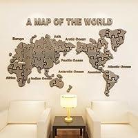 Villeroy U0026 Boch VBu0026VB Minimalistische Wand Ist Ein Stilvolles Schlafzimmer  Wohnzimmer Abnehmbare 3D Wand, Welt