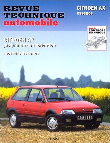 Revue Technique 478 5, Citroën AX, tous modèles Essence