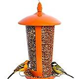 Die beste Vogelfutterstation, perfekt für den Garten, großartige Futterstationen für kleine bis mittelgroße Vögel, leicht zu reinigen und zu befüllen, Tolle Geschenkidee, die für viel Spaß sorgt