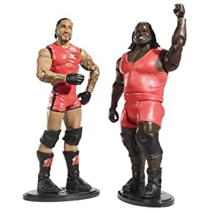 WWE Mattel 2 Packs Series 6 MVP & MARK HENRY Figures