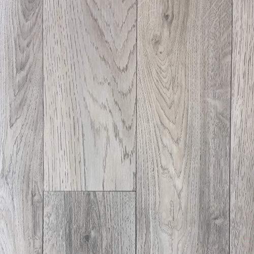 PVC Vinyl-Bodenbelag in grauem Vintagelook | PVC-Belag verfügbar in der Breite 4 m & in der Länge 3,5 m | CV-Boden wird in benötigter Größe als Meterware geliefert | rutschhemmend