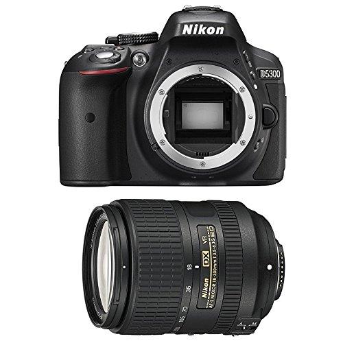 Nikon D530018–300/3.5–6.3AF-S G DX ED VR Fotocamera digitale 24.78Mpix