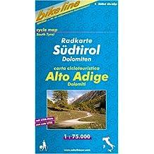 Bikeline Radkarte Südtirol Dolomiten 1:75000. carta ciclotouristica Alto Adige Dolomiti