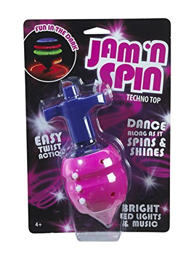 Little Kids 17432 Jam and Spin Top Techno Novelty by Little (Top Jam)