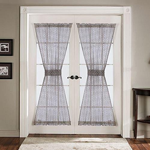 Lush Decor Antik Tür Panel, 4106,7cm von 183cm, grau