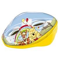 Disney Kinder Winnie Puuh Fahrradhelm, Gelb/Grün, M, 35123
