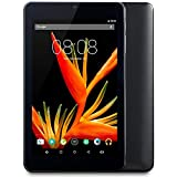 Alldaymall A Tablet PC Android 5.1 da 7 pollici, IPS HD 1920x1200, HDD da 16GB, RAM 1GB, Processore A64 Quad Core 64-Bit 1.5 GHz, Wi-Fi - Nero