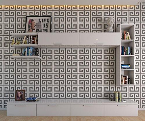 HomeArtDecor - Griechische Schlüssel Dekorative Wandpaneele - Griechische Dekoration