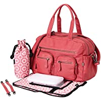 OiOi Carry All Faux Buffalo (Pink)