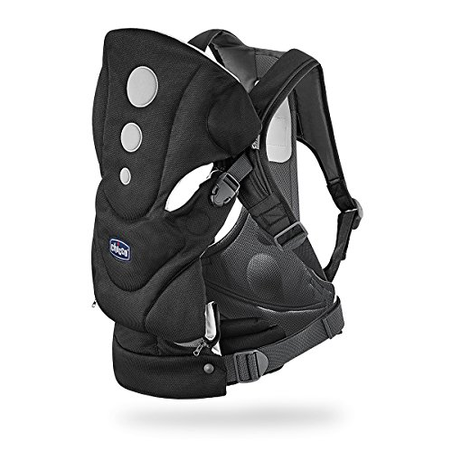 Chicco Close To You - Mochila portabebé, de 0 a 15 kg, color negro