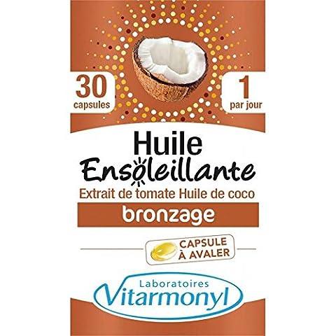 Vitarmonyl huile enseoleillante 30 capsules 19.2g Prix Unitaire - Envoi