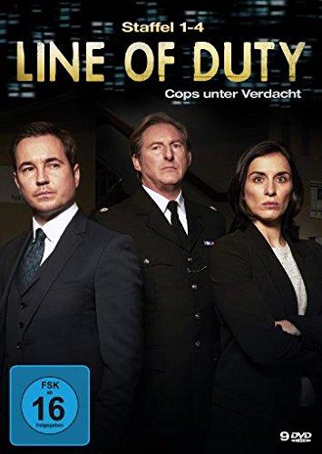 Line of Duty - Cops unter Verdacht - Staffel 1-4 [9 DVDs]